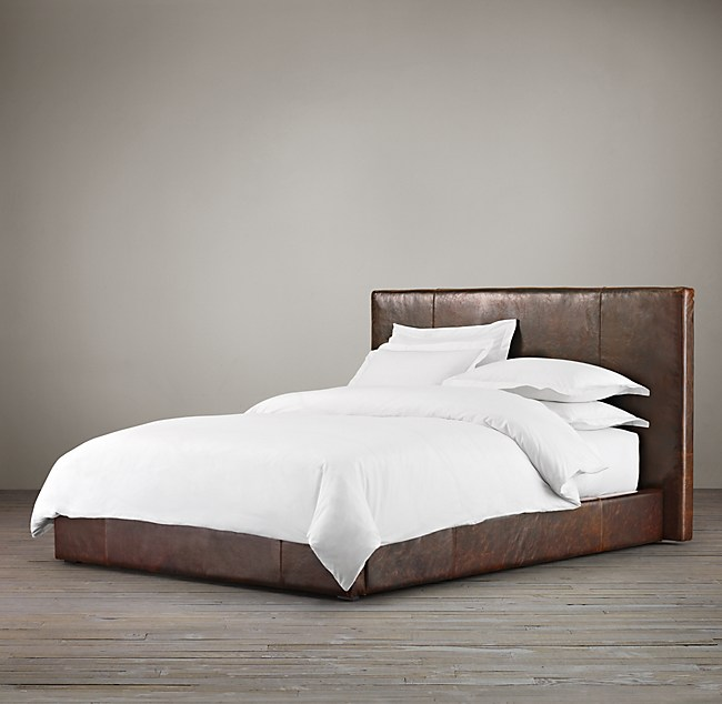 Platform Bed No Headboard Decor