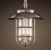 Starboard Pendant With Shade