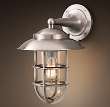 Starboard Sconce With Shade