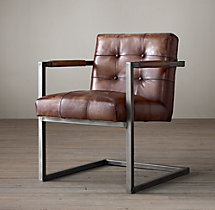 Milano Tufted Chair - Molasses