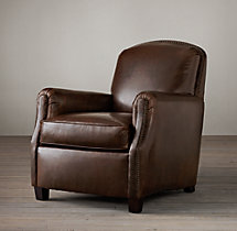 Keaton Leather Club Chair
