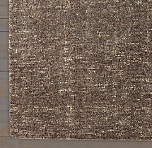 Tessitura Wool Rug Swatch - Charcoal
