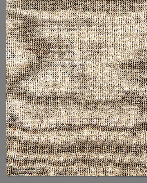 Braided Felt Rug - Flax