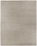 Braided Felt Rug - Grey