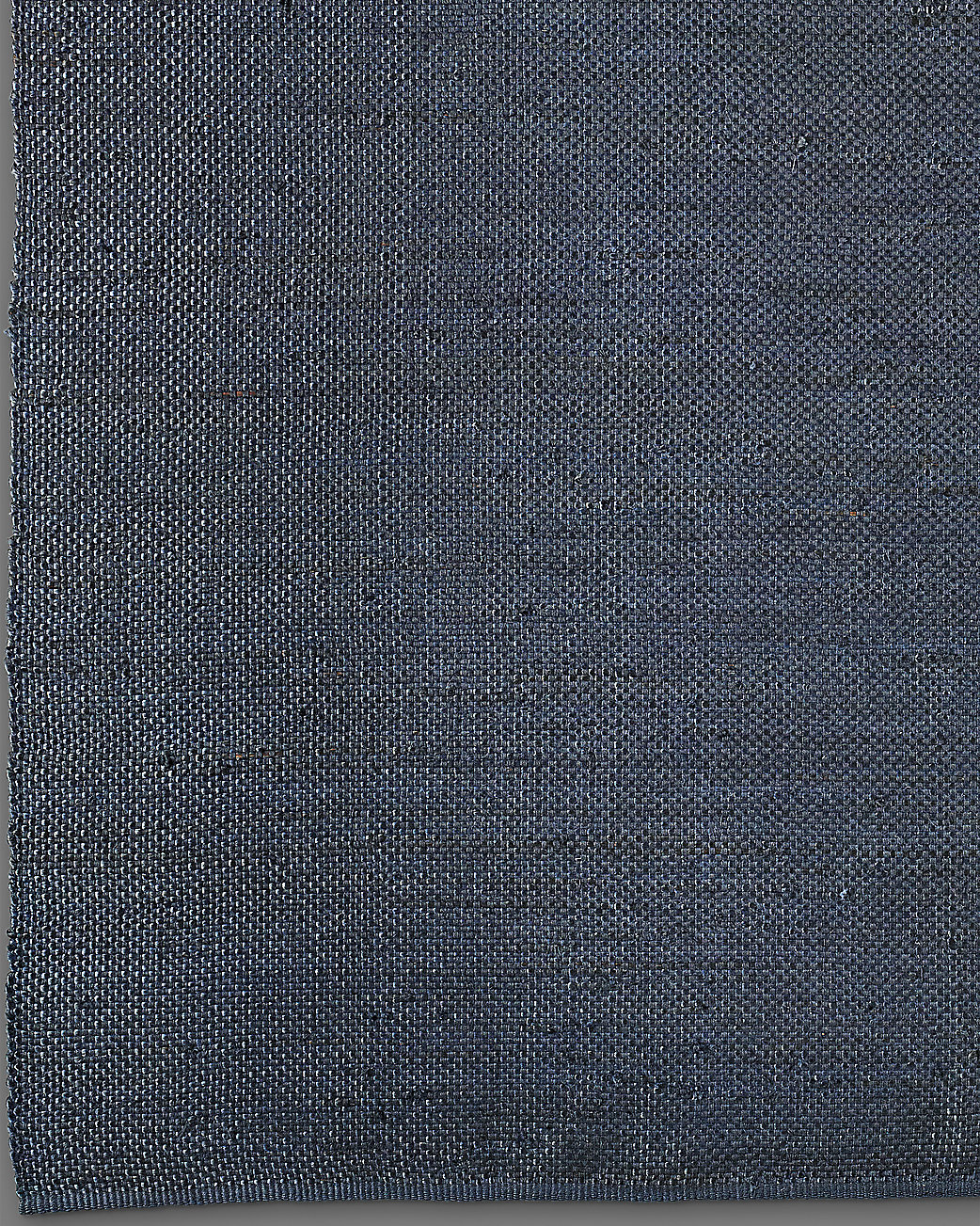 Basket Weave Hemp Rug - Navy