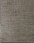 Basket Weave Hemp Rug - Dark Taupe