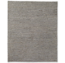 Linear Hemp Rug - Natural Grey