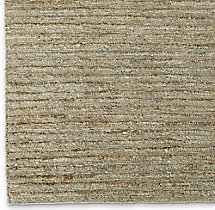 Linear Hemp Rug Swatch - Sand