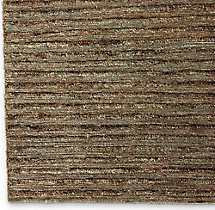 Linear Hemp Rug Swatch - Caramel