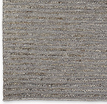 Linear Hemp Rug Swatch - Natural Grey