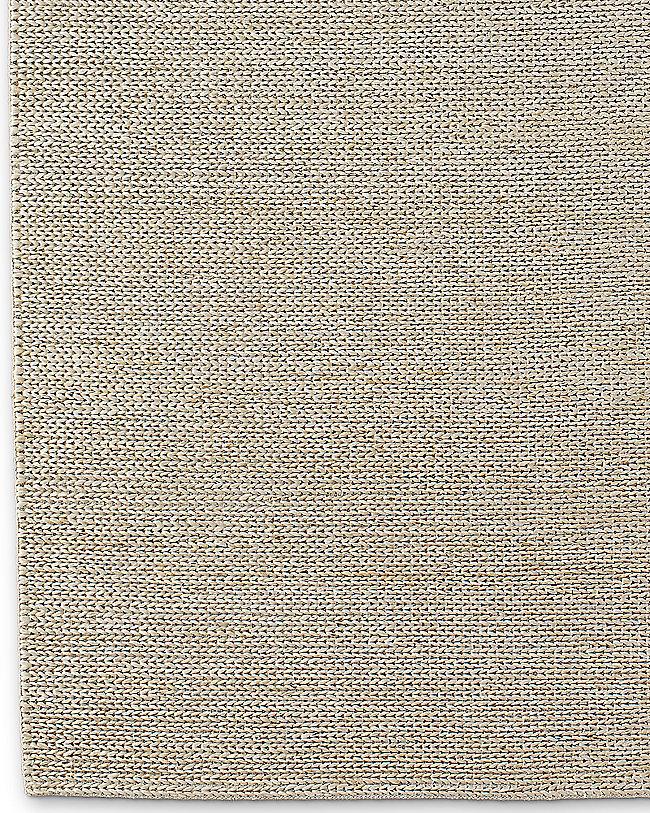 Hand Braided Jute Rug Linen