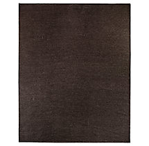 Heathered Flatweave Rug - Chocolate