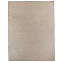 Heathered Flatweave Rug - Oatmeal