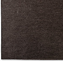 Heathered Flatweave Rug Swatch - Chocolate