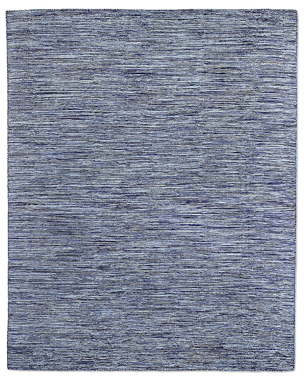 Striated Flatweave Rug - Blue