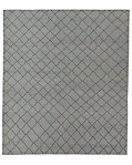 Moroccan Diamond Flatweave Rug - Grey