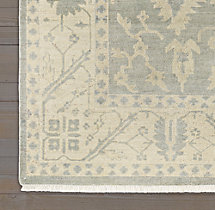 Ashra Rug - Grey Swatch