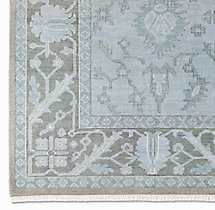 Ashra Rug - Blue Swatch
