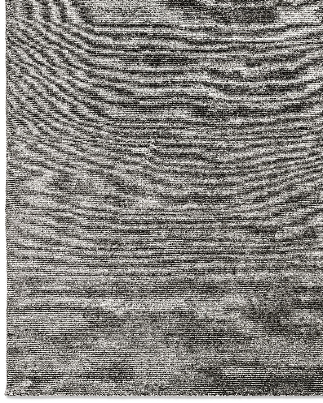 Textured Cord Rug - Charcoal