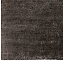Textured Cord Rug Swatch - Black