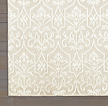 Ornamento Rug Swatch- Cream