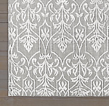 Ornamento Rug Swatch - Grey