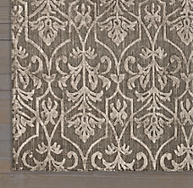 Ornamento Rug Swatch - Charcoal