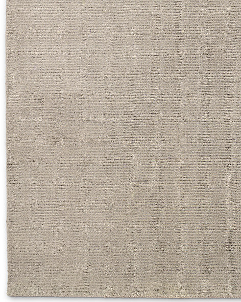 Distressed Wool Rug - Flax