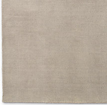 Distressed Wool Rug Swatch - Flax