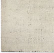 Distressed Wool Rug Swatch - Sand