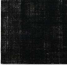 Distressed Wool Rug Swatch - Black