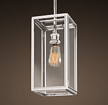 Union Filament Pendant - Polished Nickel