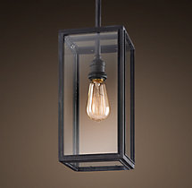 Union Filament Pendant - Weathered Zinc