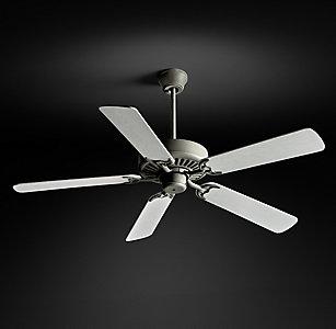 All ceiling fans rh bistro ceiling fan galvanized steel aloadofball Gallery