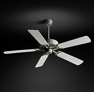 Ceiling fans rh bistro ceiling fan galvanized steel mozeypictures Images