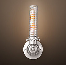 Edison Perforated Metal Sconce