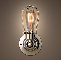 Marconi Caged Sconce