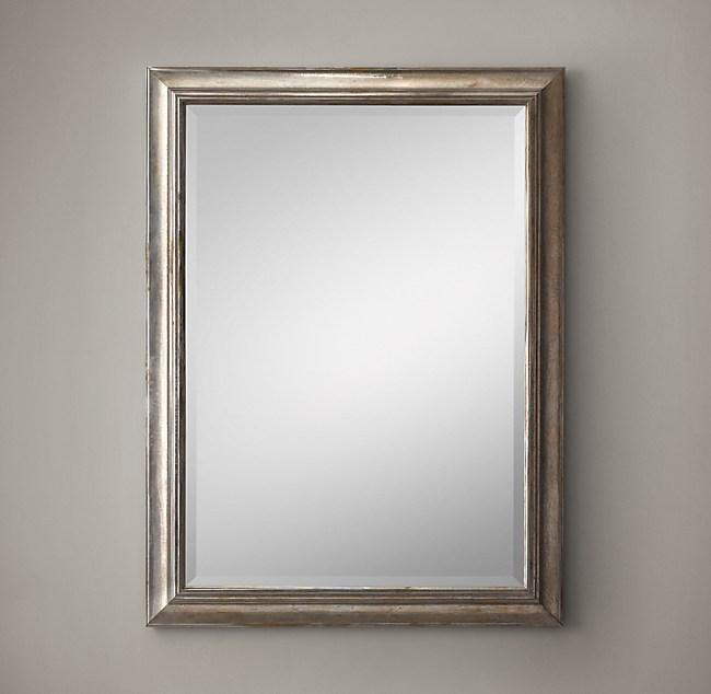 English Aged Mirror 36\