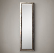 "English Aged Leaner Mirror 24"" x 80"""