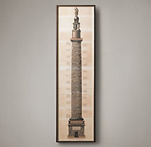 Trajan's Column Etching 1