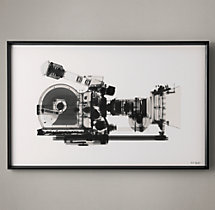 Nick Veasey X-ray Photography: Movie Camera