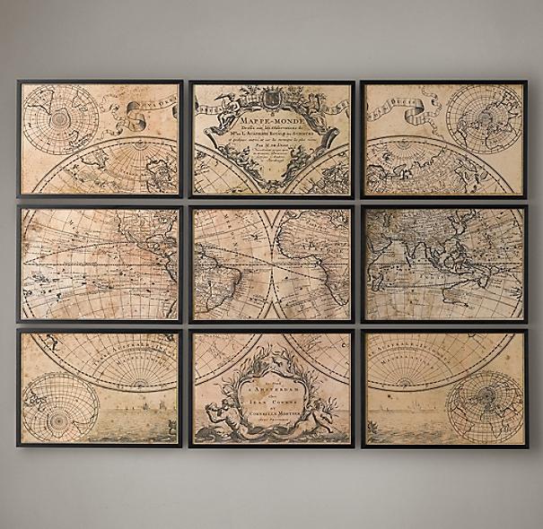 L 39 Isle 39 S 1720 World Map