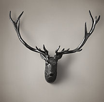 1890 Stag Head - Iron