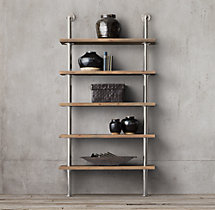 Maritime Shelf System - Polished Nickel