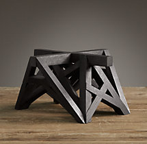 Wood Table Maquette Black