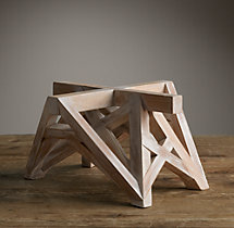 Wood Table Maquette White