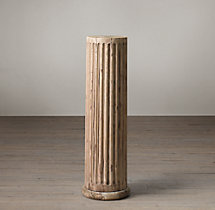 19th C. Fluted Column