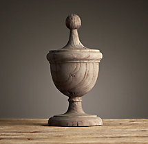 Neoclassical Wood Elements – 19th C. Acorn Finial