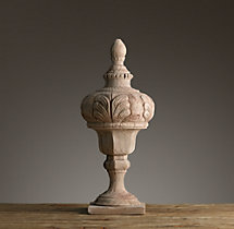 19th C. Foliate Urn Finial