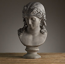 Bust of Greek Goddess Ariadne